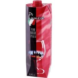 Piacere Vino Rosso Italia trocken 1l