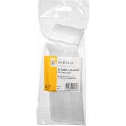 HEKU Plastikgabeln Premium 25 Stk