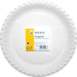 HEKU Pappteller Ø 23 cm 20 Stk