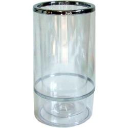 Weinkühler Acryl doppelwandig glasklar
