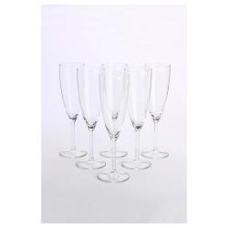 Sektglas, Klarglas, 21 cl ( 6 Stück im Karton )