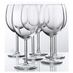 Rotweinglas, Klarglas, 30 cl ( 6 Stück im Karton )