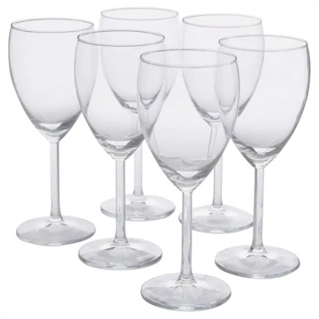 Weißweinglas, Klarglas, 25 cl ( 6 Stück im Karton )