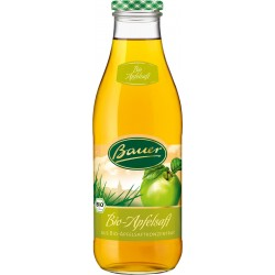 Bauer Bio Apfelsaft klar 6 x 0.98L