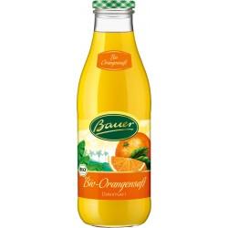 Bauer Bio Orangendirektsaft 6 x 0.98L