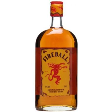 Fireball Zimt & Whisky Likör 33% 0.7 L