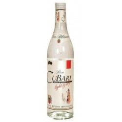 Cubari Weisser Rum 37,5% 1 L