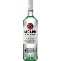 Bacardi Carta Blanca 37,5% 0.7 L