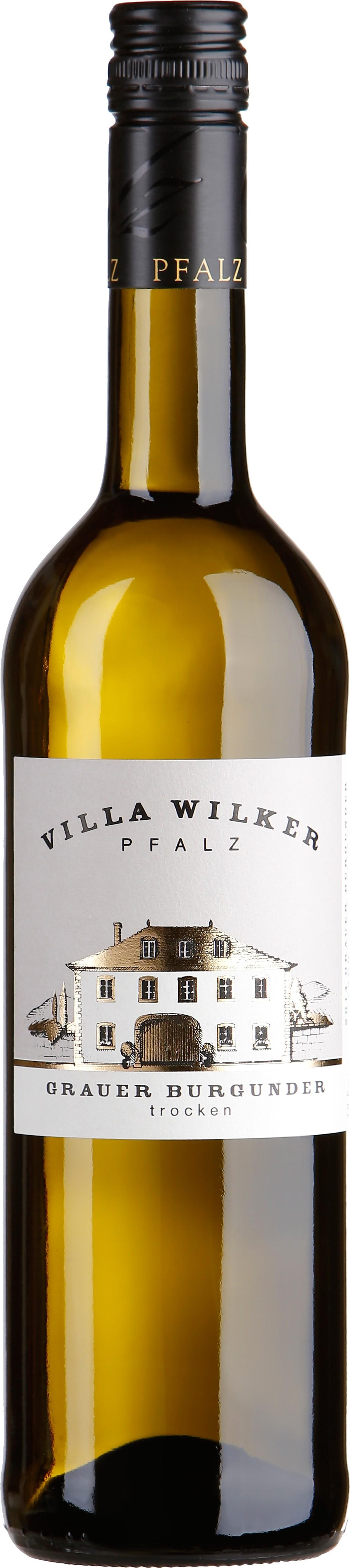 villa wilker - grauer burgunder trocken 0.75 l